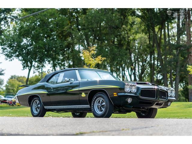 1971 Pontiac GTO (The Judge) (CC-1392956) for sale in Milford, Michigan