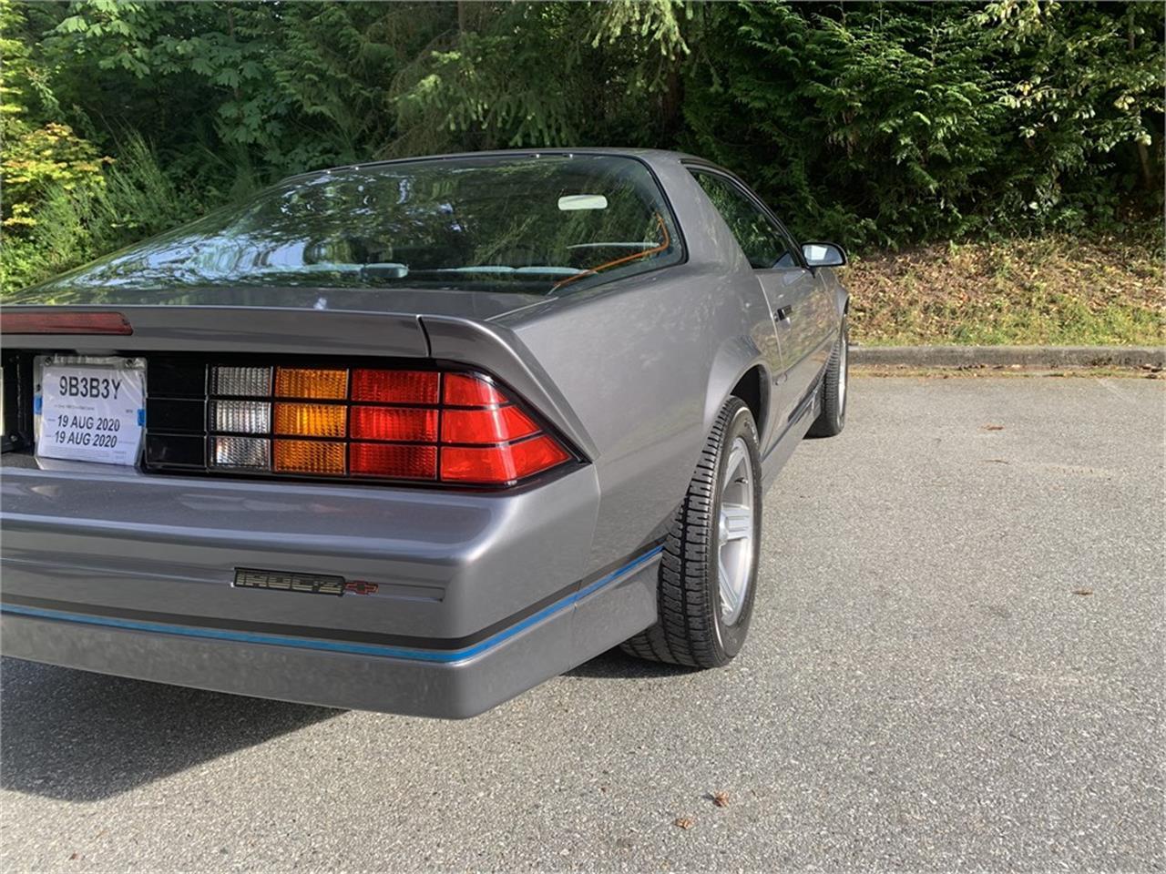 1988 Chevrolet Camaro IROC Z28 (CC-1390300) for sale in Vancouver, British Columbia
