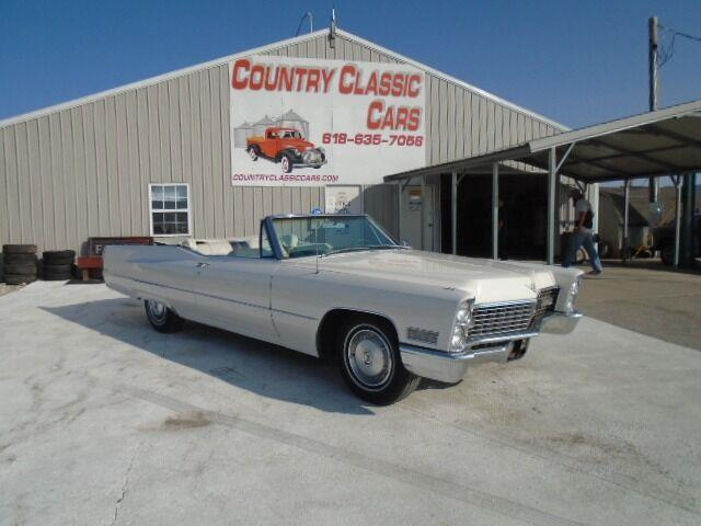 1967 Cadillac DeVille (CC-1393160) for sale in Staunton, Illinois