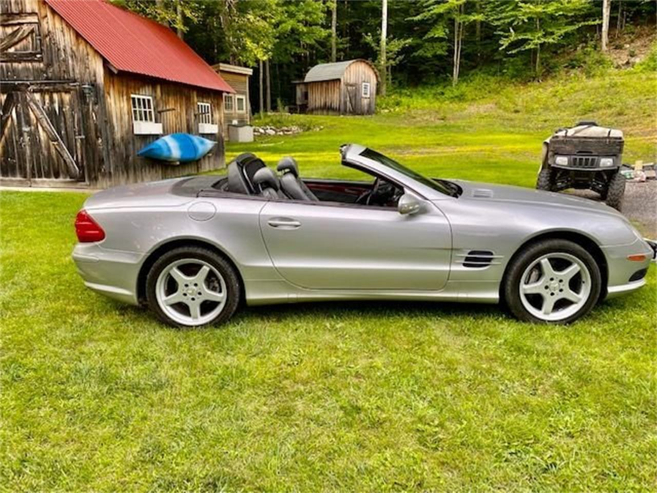 2003 Mercedes-Benz SL500 (CC-1390343) for sale in Saratoga Springs, New York