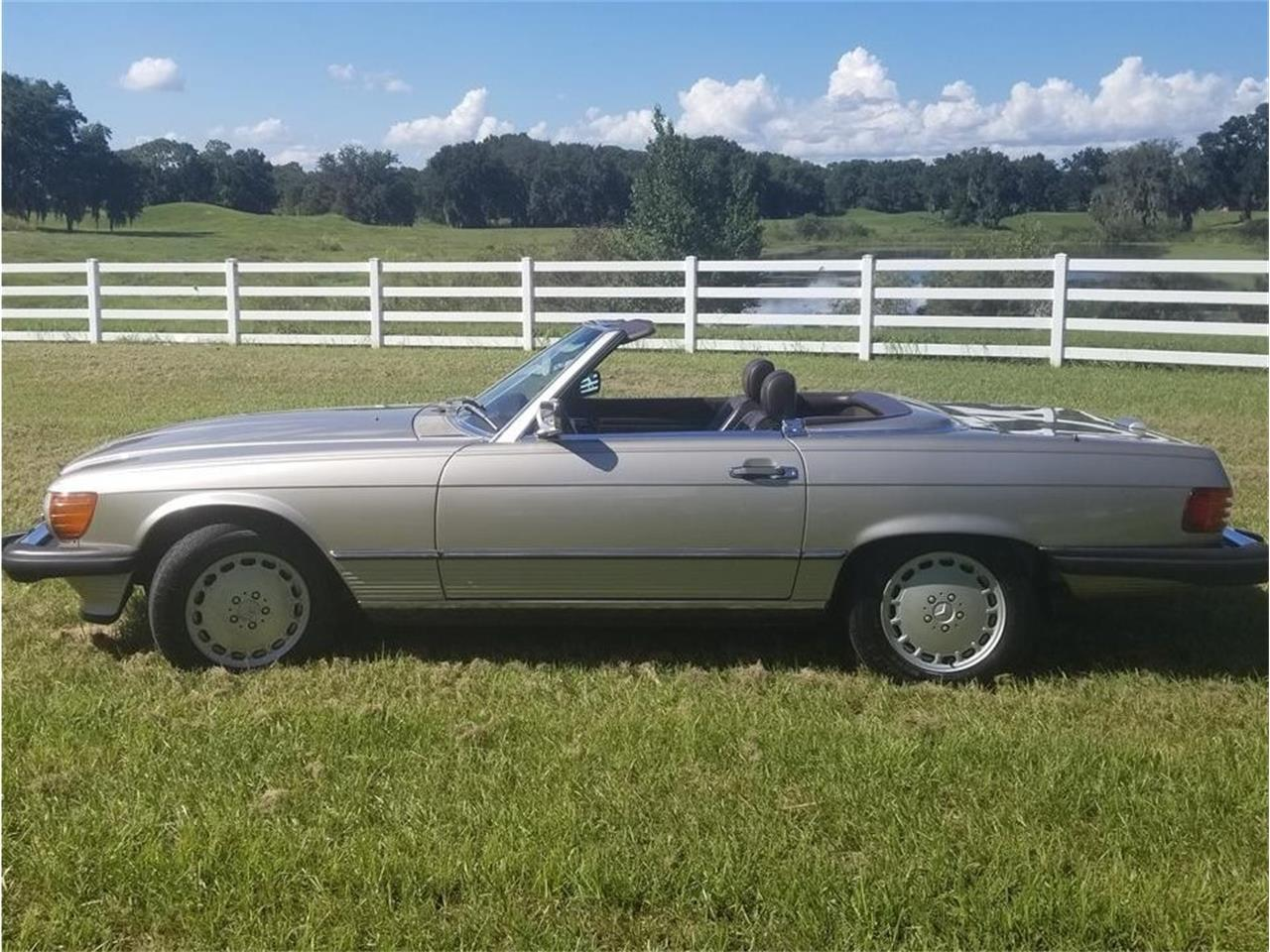 1986 Mercedes-Benz 560SL (CC-1393618) for sale in Apopka, Florida