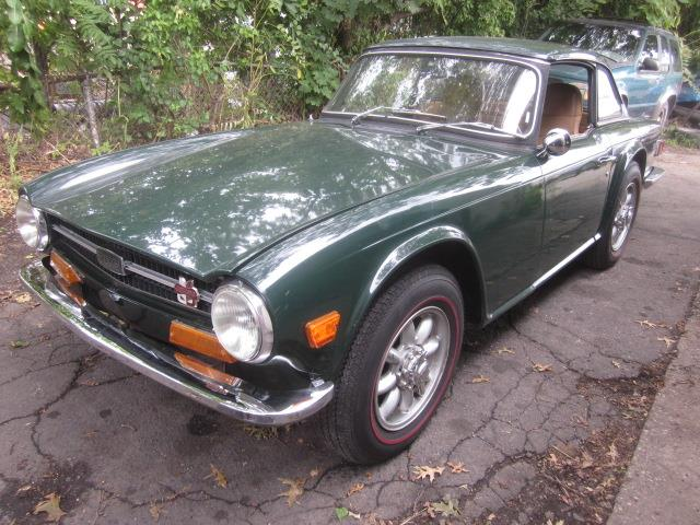 1972 Triumph TR6 (CC-1393620) for sale in Stratford, Connecticut