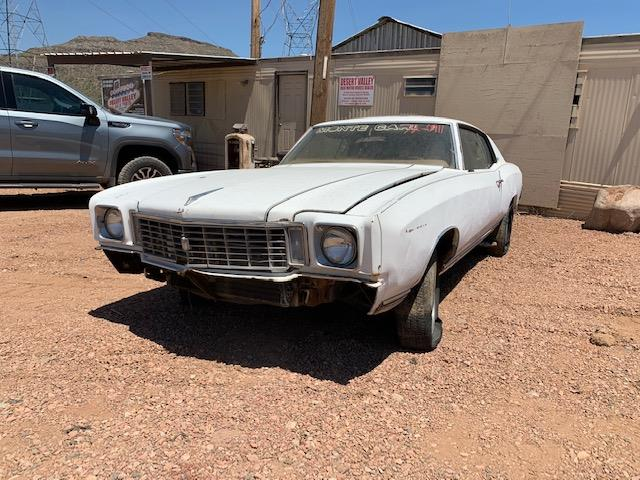 1972 Chevrolet Monte Carlo (CC-1393657) for sale in Phoenix, Arizona
