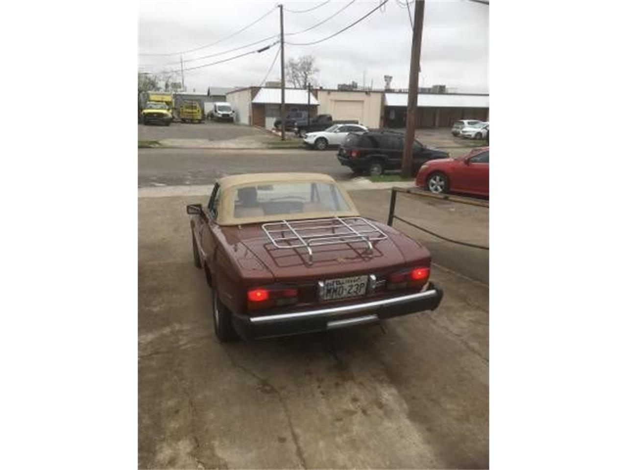 1980 Fiat Spider (CC-1393807) for sale in Cadillac, Michigan