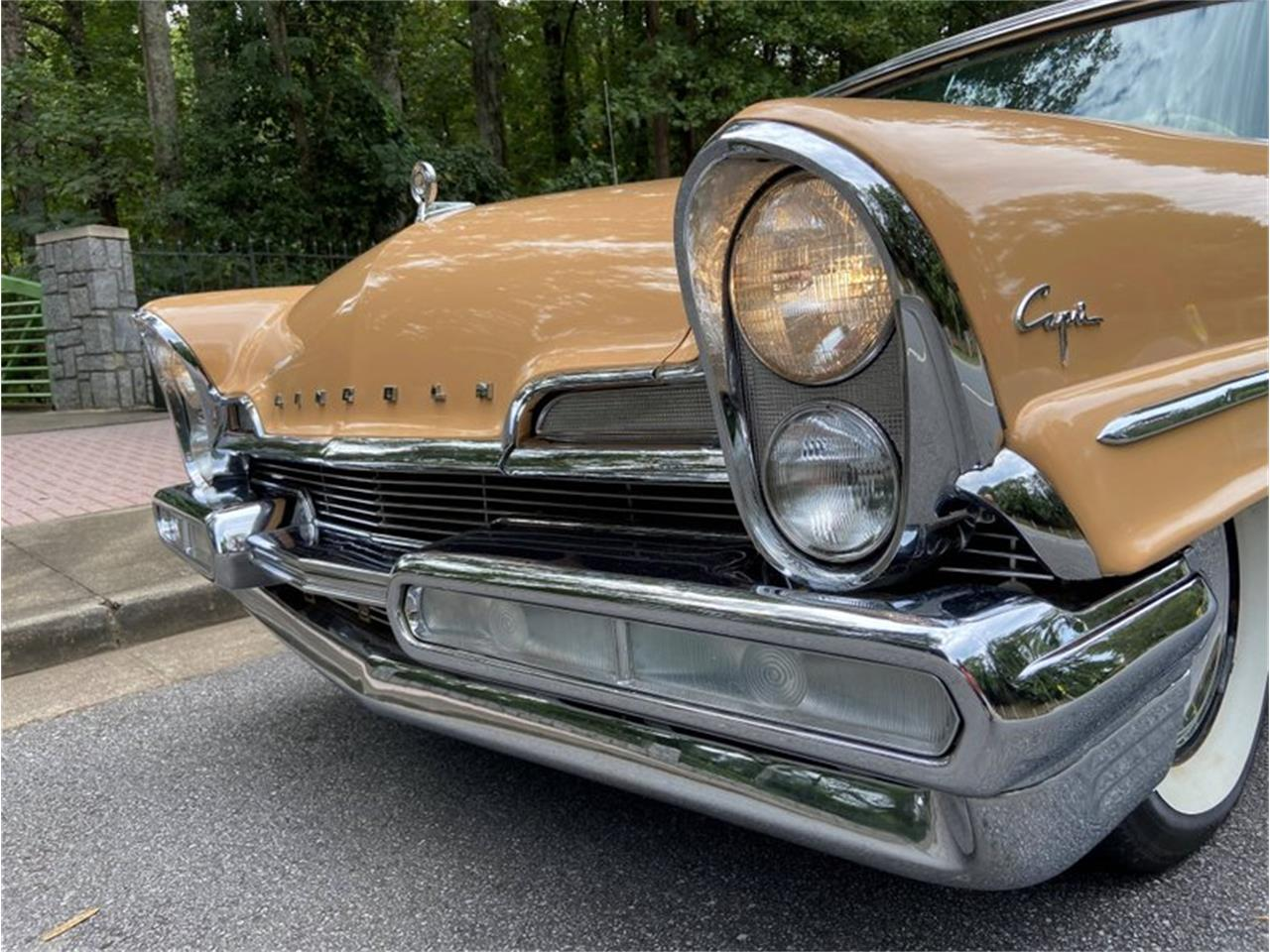 1957 Lincoln Capri (CC-1393867) for sale in Greensboro, North Carolina