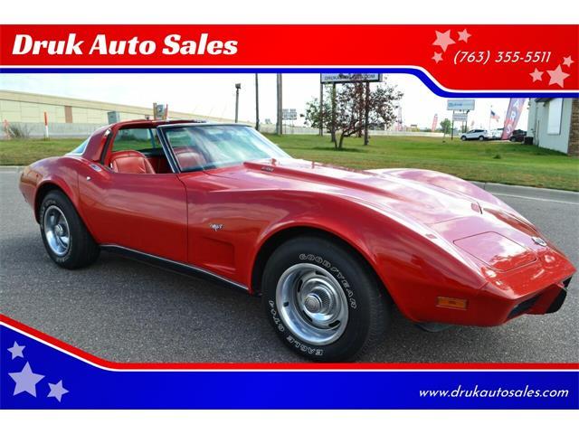 1978 Chevrolet Corvette (CC-1393916) for sale in Ramsey, Minnesota
