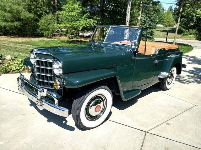 1950 Willys Jeepster (CC-1393920) for sale in Carlisle, Pennsylvania
