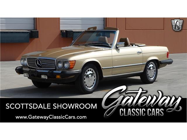 1985 Mercedes-Benz 380SL (CC-1393973) for sale in O'Fallon, Illinois