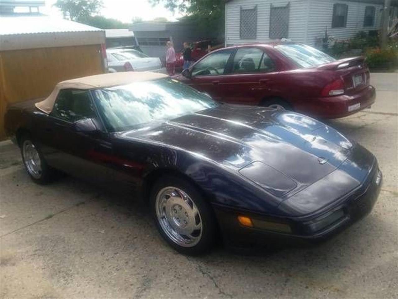 1992 Chevrolet Corvette (CC-1394119) for sale in Cadillac, Michigan