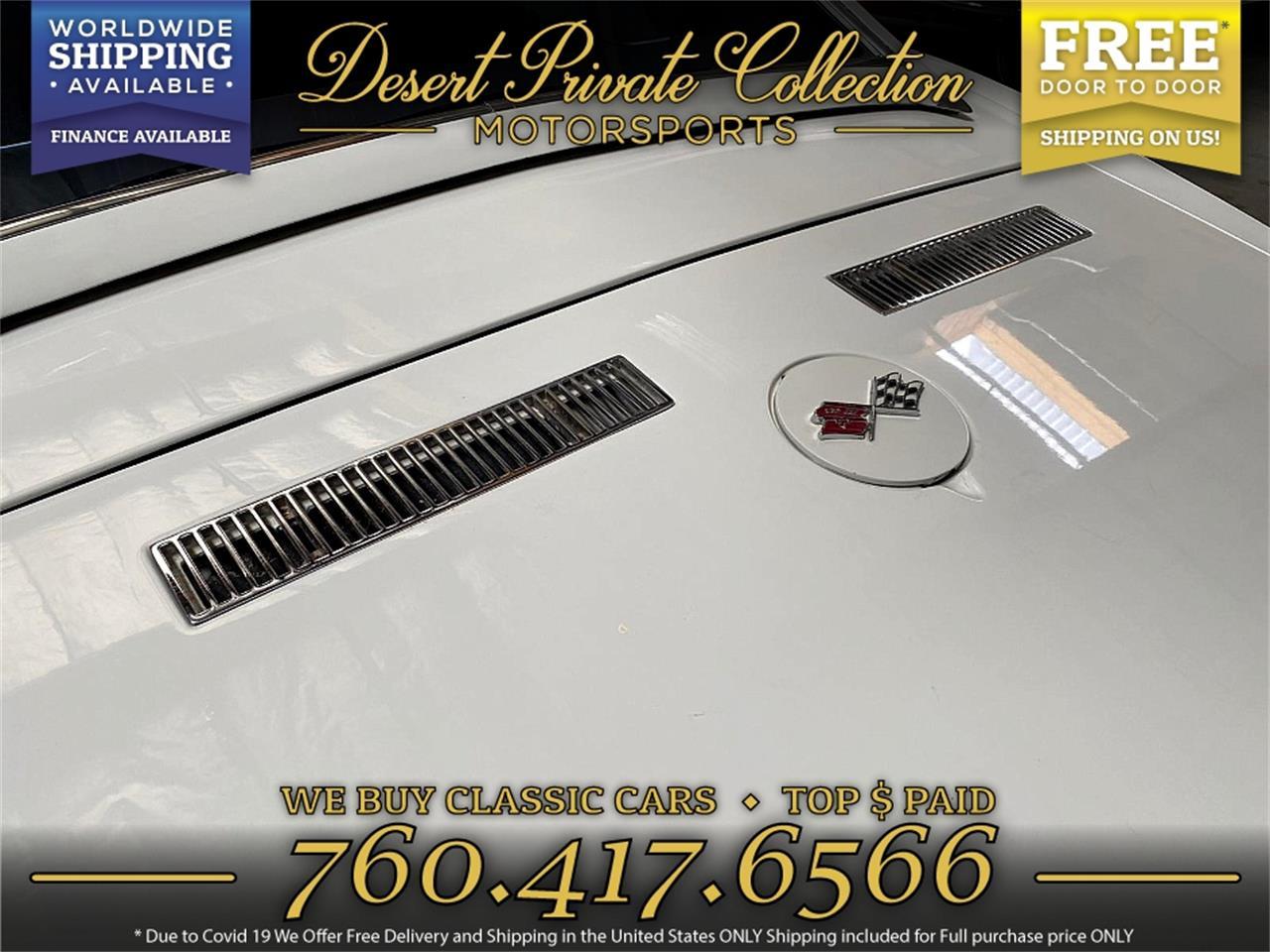 1968 Chevrolet Corvette (CC-1394191) for sale in Palm Desert , California