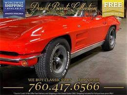 1963 Chevrolet Corvette (CC-1394201) for sale in Palm Desert , California