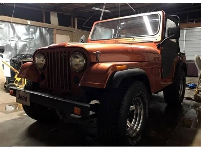 1981 Jeep CJ5