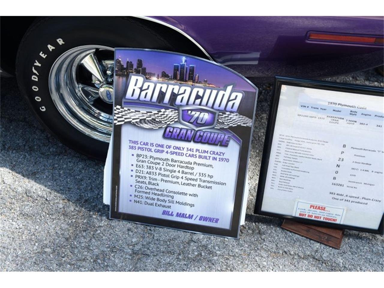 1970 Plymouth Barracuda (CC-1390054) for sale in Saratoga Springs, New York