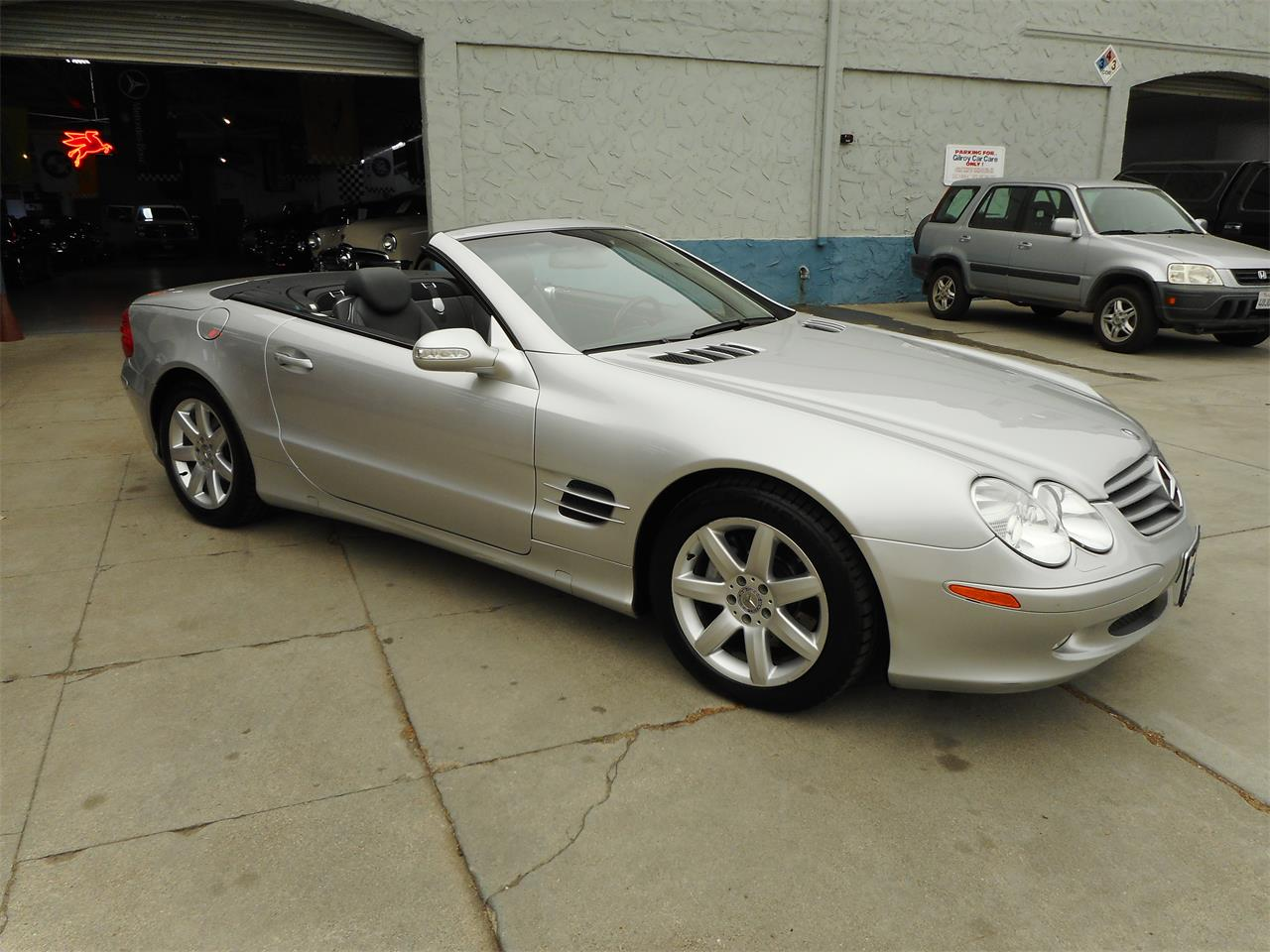 2003 Mercedes-Benz SL500 (CC-1390635) for sale in Gilroy, California