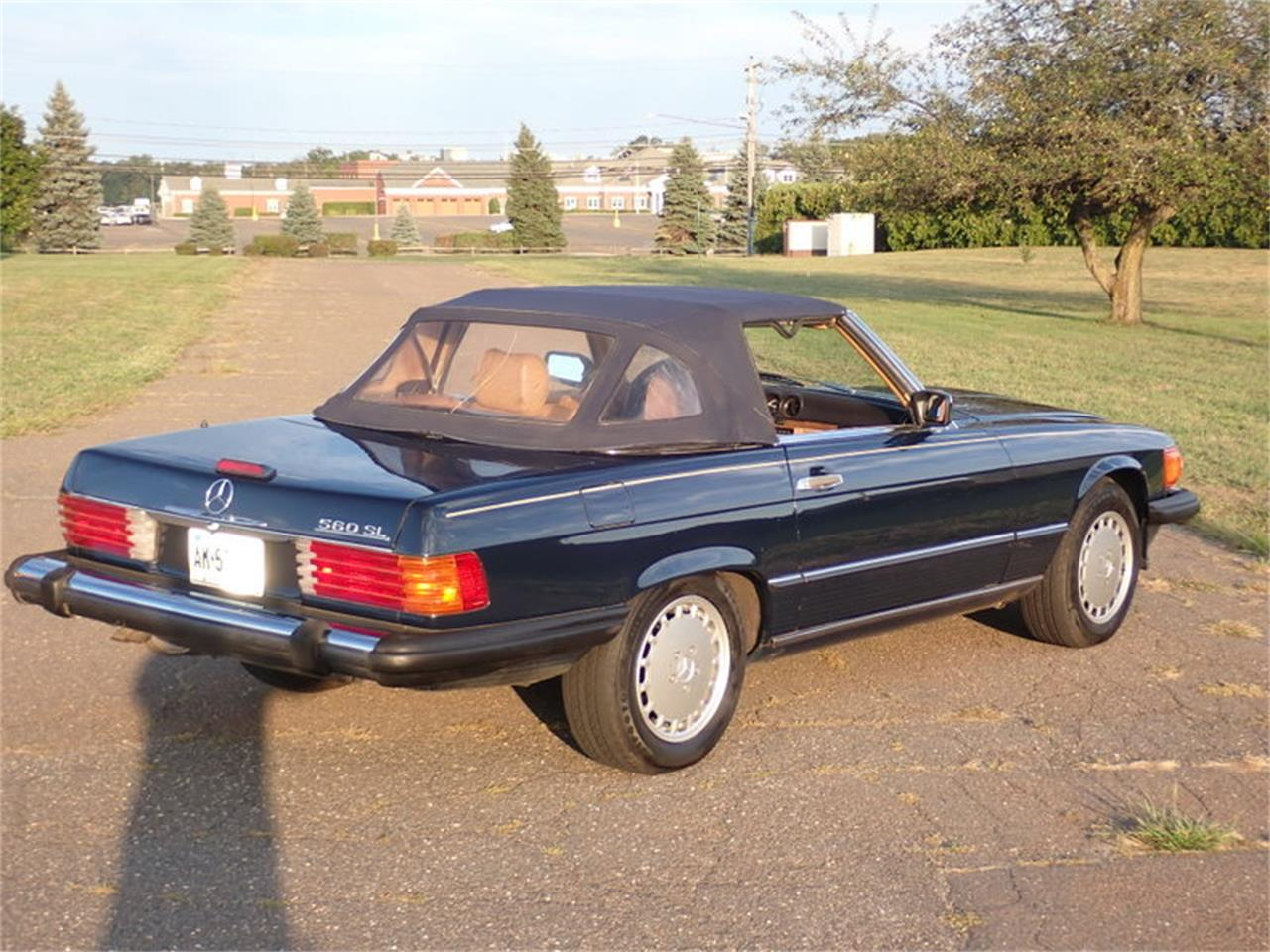 1988 Mercedes-Benz 560SL (CC-1390646) for sale in East Windsor, Connecticut