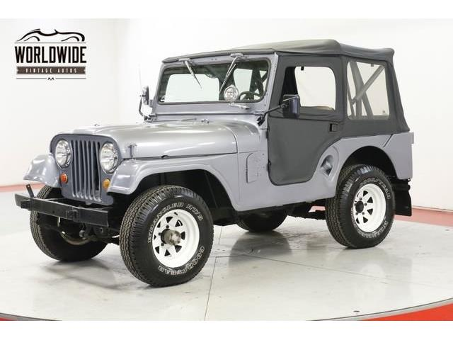 1955 Jeep Willys (CC-1390670) for sale in Denver , Colorado