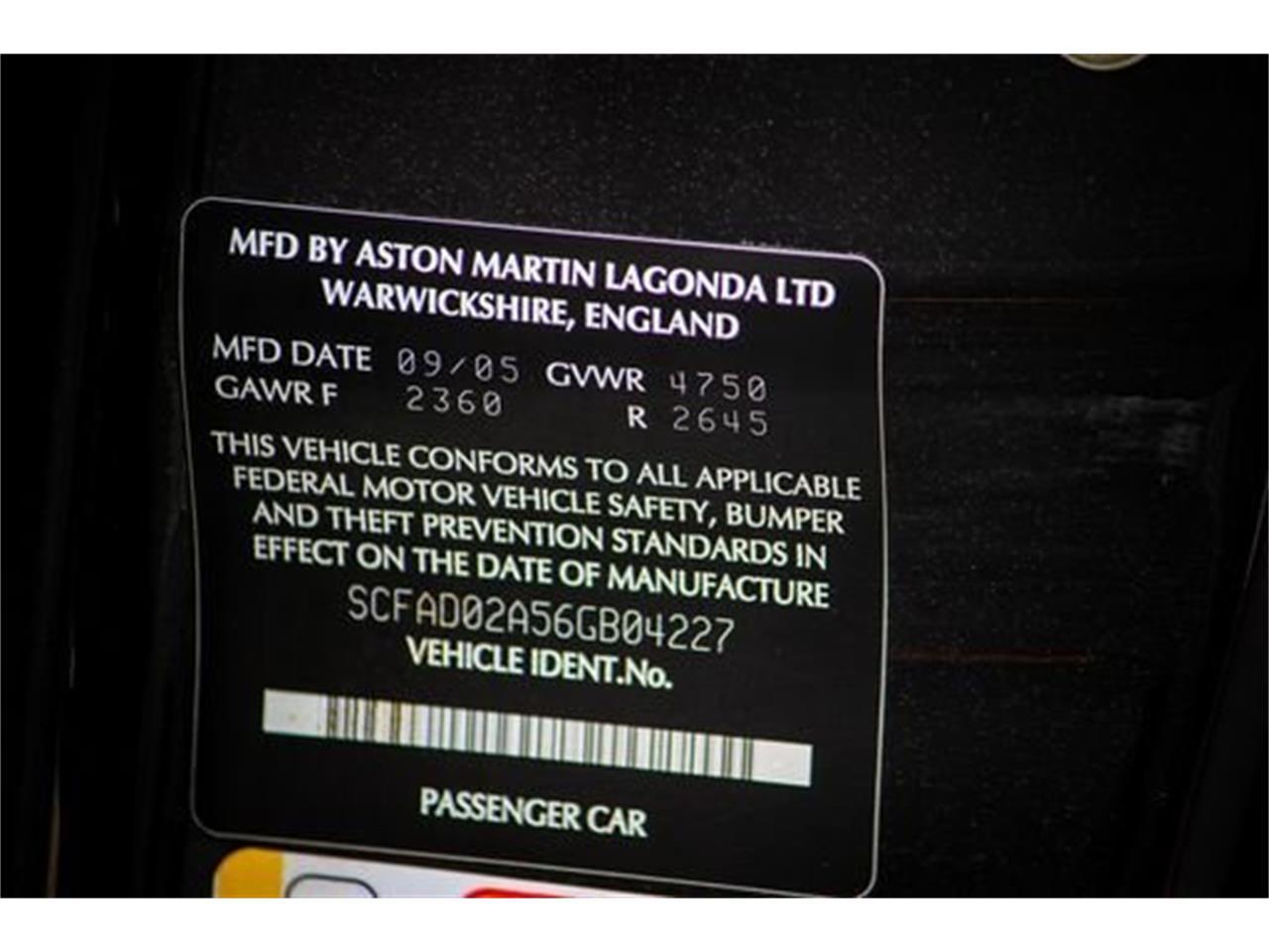 2006 Aston Martin DB9 (CC-1390071) for sale in Saratoga Springs, New York