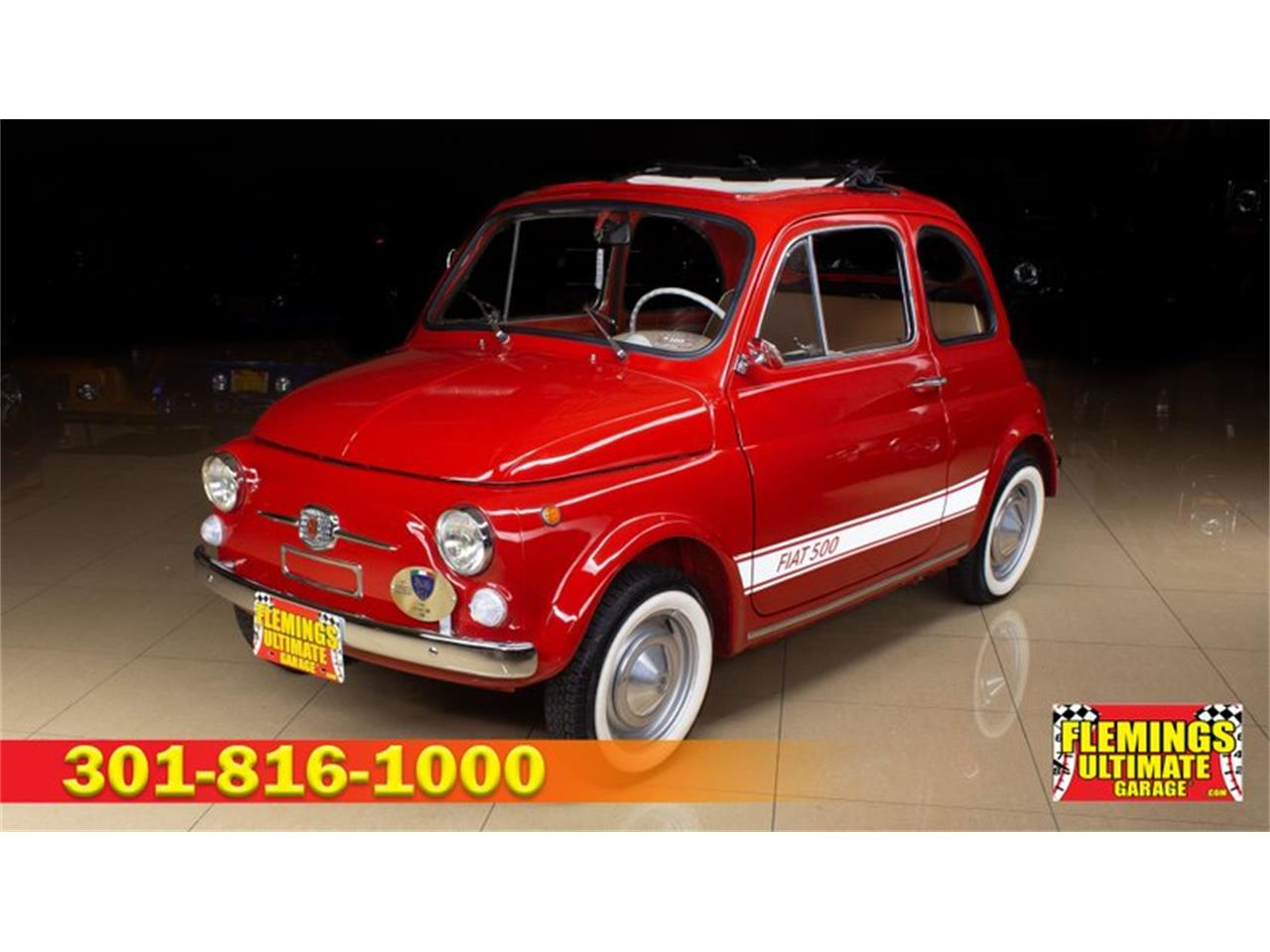 1966 Fiat 500L (CC-1390788) for sale in Rockville, Maryland
