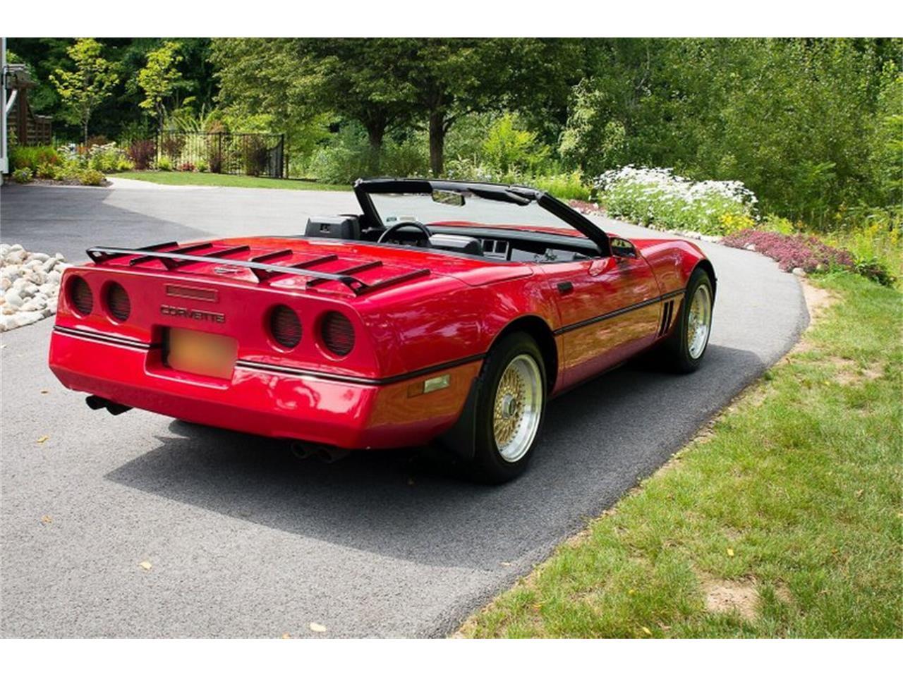 1986 Chevrolet Corvette (CC-1390085) for sale in Saratoga Springs, New York