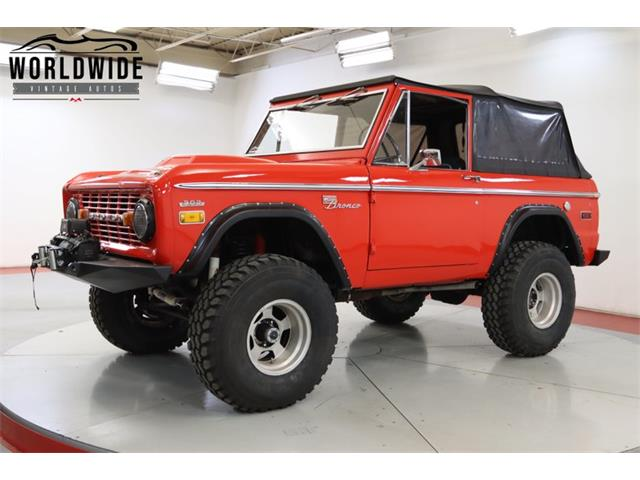 1972 Ford Bronco (CC-1390009) for sale in Denver , Colorado