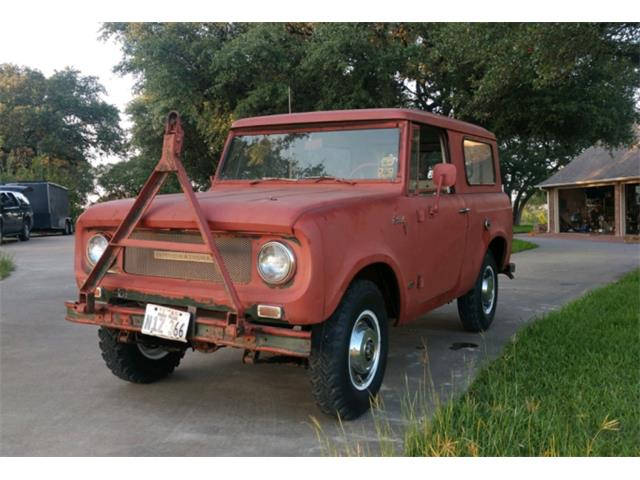 1968 International Scout 800 (CC-1390930) for sale in Austin, Texas