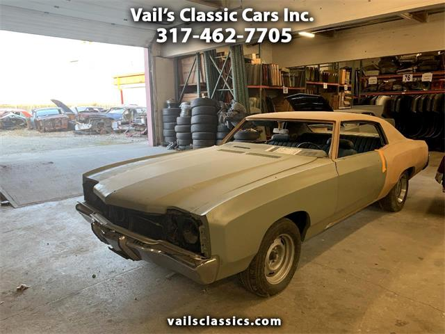 1972 Chevrolet Monte Carlo (CC-1409937) for sale in Greenfield, Indiana