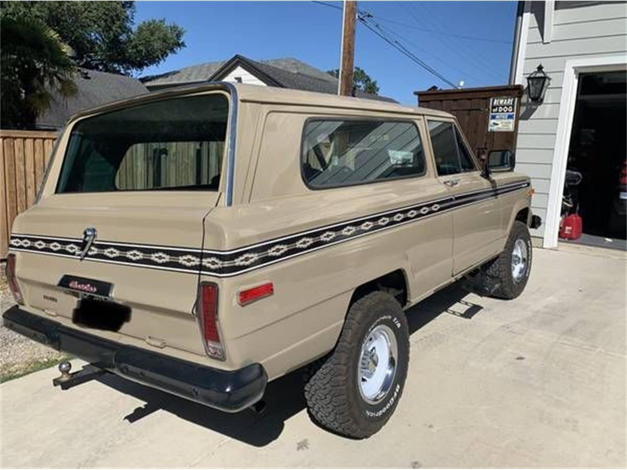 1978 Jeep Cherokee (CC-1411171) for sale in Cadillac, Michigan