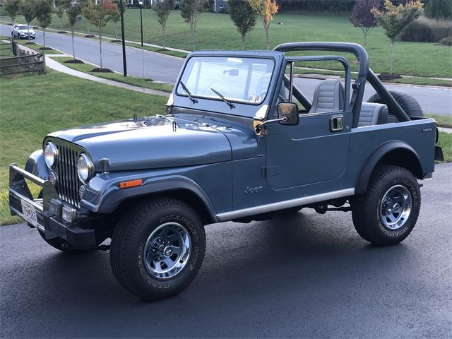 1982 Jeep CJ7 (CC-1411241) for sale in Davidsonville, Maryland