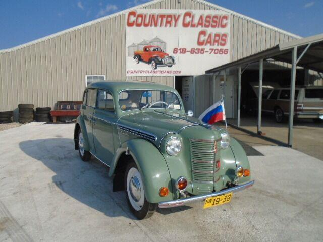 1951 Moskvitch 400-420 (CC-1410129) for sale in Staunton, Illinois