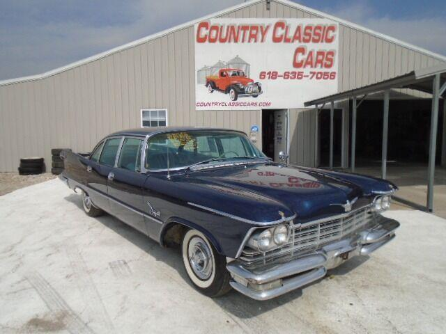 1957 Chrysler Imperial Crown (CC-1410134) for sale in Staunton, Illinois