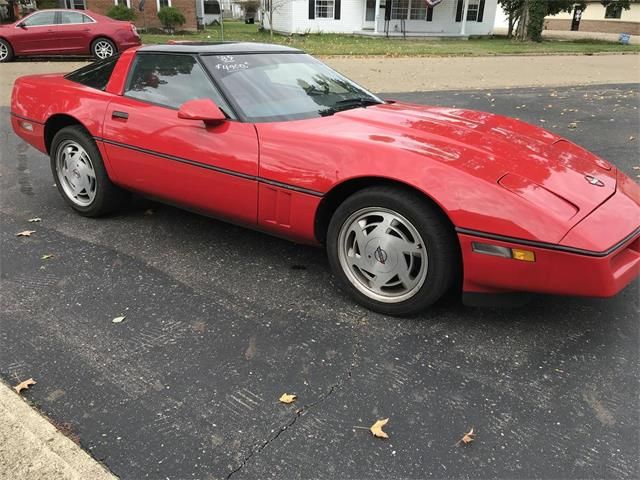 1989 Chevrolet Corvette (CC-1411610) for sale in UTICA, Ohio