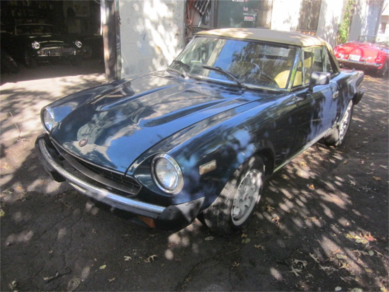 1982 Fiat Spider (CC-1411664) for sale in Stratford, Connecticut