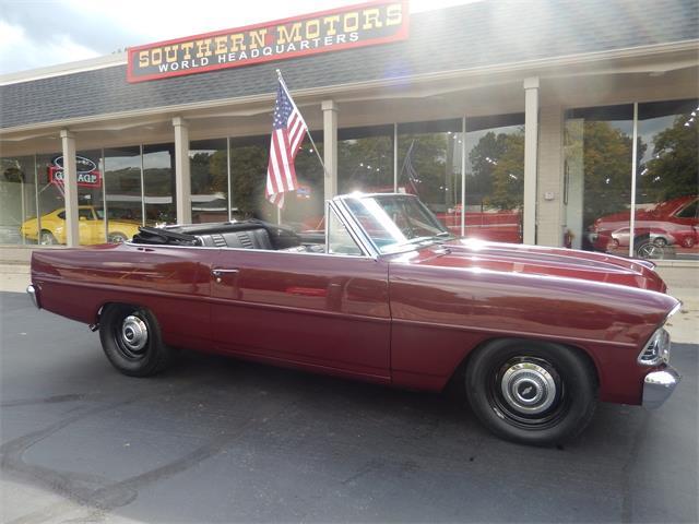 1966 Chevrolet Nova (CC-1410017) for sale in Clarkston, Michigan