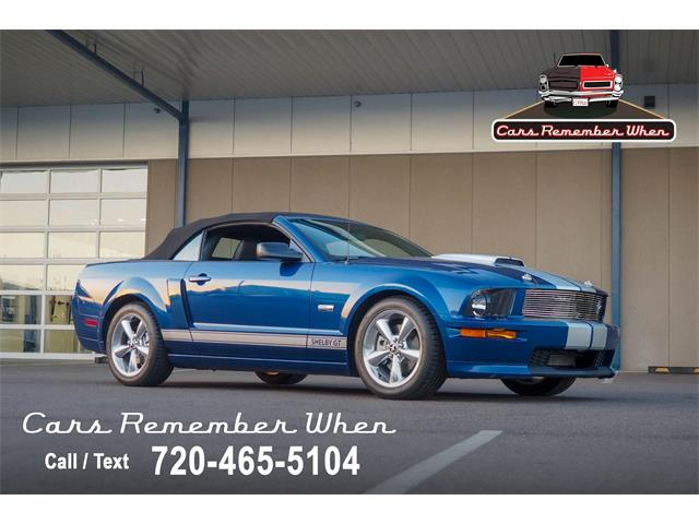 2008 Ford Mustang (CC-1410185) for sale in Englewood, Colorado