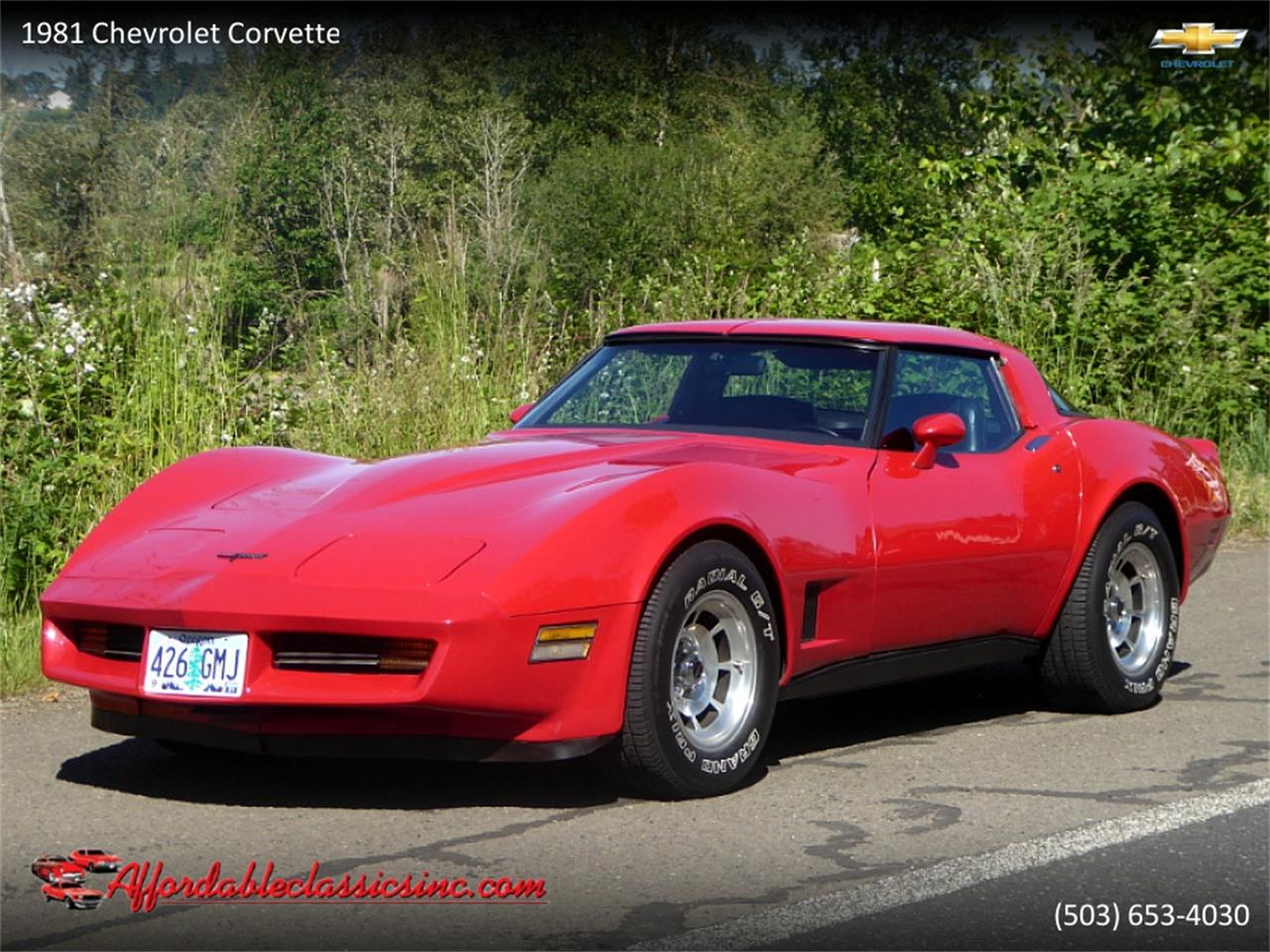 1981 Chevrolet Corvette (CC-1411900) for sale in Gladstone, Oregon