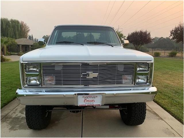 1985 Chevrolet K-10 (CC-1411907) for sale in Roseville, California