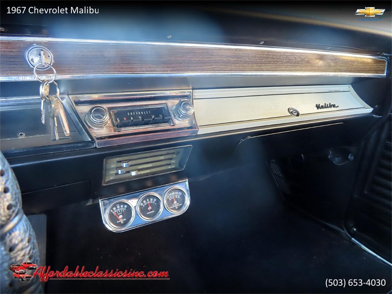 1967 Chevrolet Malibu (CC-1411918) for sale in Gladstone, Oregon