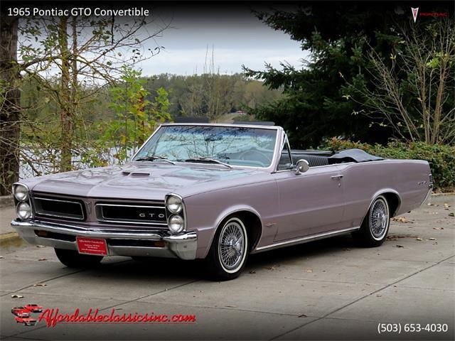 1965 Pontiac GTO (CC-1411932) for sale in Gladstone, Oregon
