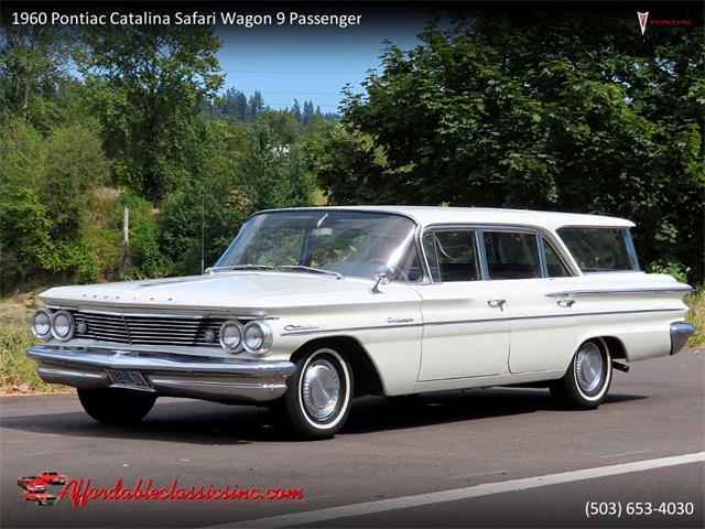 1960 Pontiac Safari (CC-1411933) for sale in Gladstone, Oregon