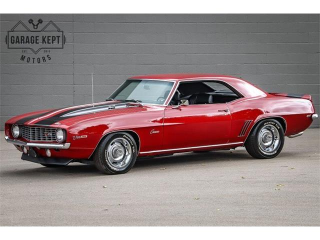 1969 Chevrolet Camaro (CC-1412084) for sale in Grand Rapids, Michigan