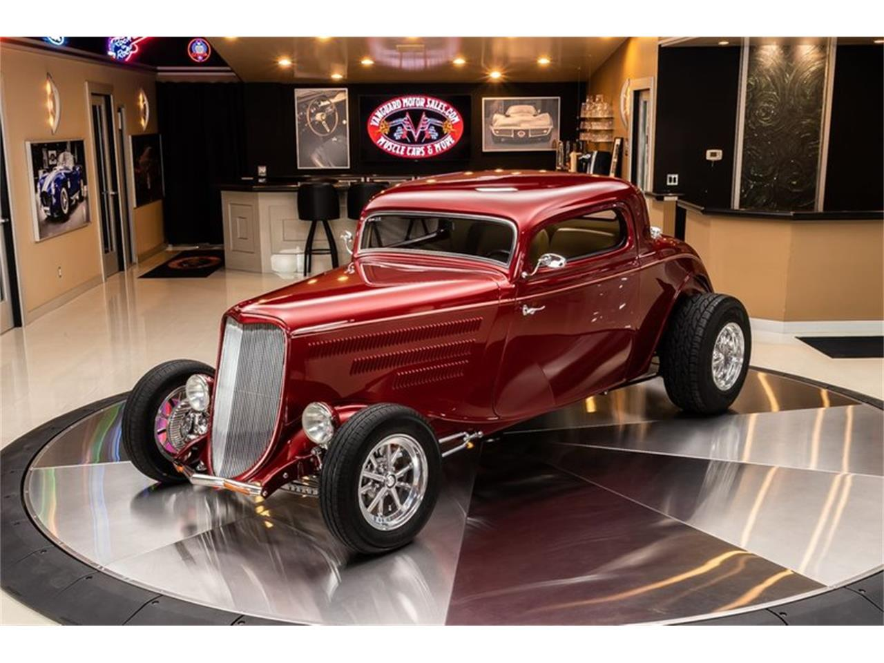1933 Ford 3-Window Coupe (CC-1412089) for sale in Plymouth, Michigan