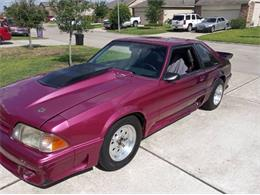 1987 Ford Mustang (CC-1412102) for sale in Cadillac, Michigan