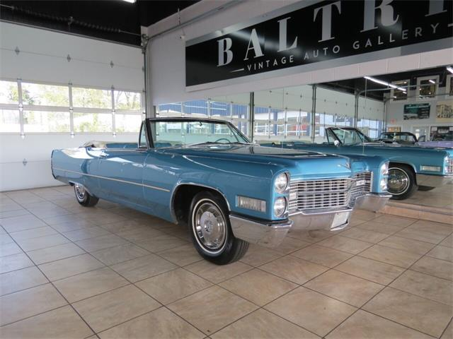1966 Cadillac DeVille (CC-1412239) for sale in St. Charles, Illinois