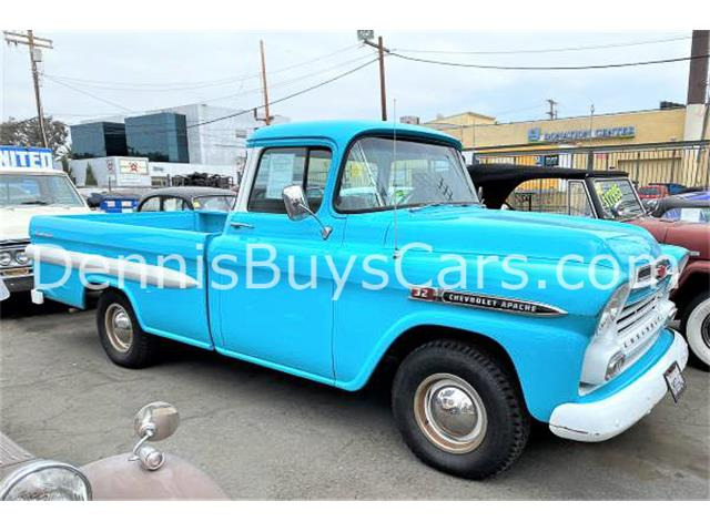 1959 Chevrolet Apache (CC-1412345) for sale in LOS ANGELES, California