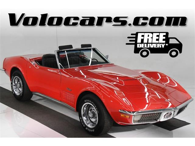 1971 Chevrolet Corvette (CC-1412401) for sale in Volo, Illinois