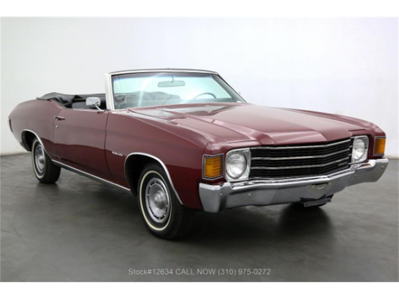1972 Chevrolet Malibu (CC-1412419) for sale in Beverly Hills, California