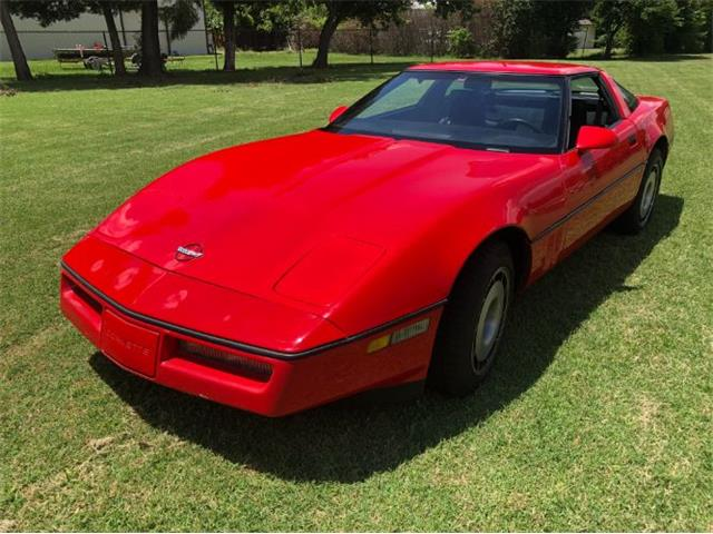 1984 Chevrolet Corvette (CC-1412428) for sale in Cadillac, Michigan