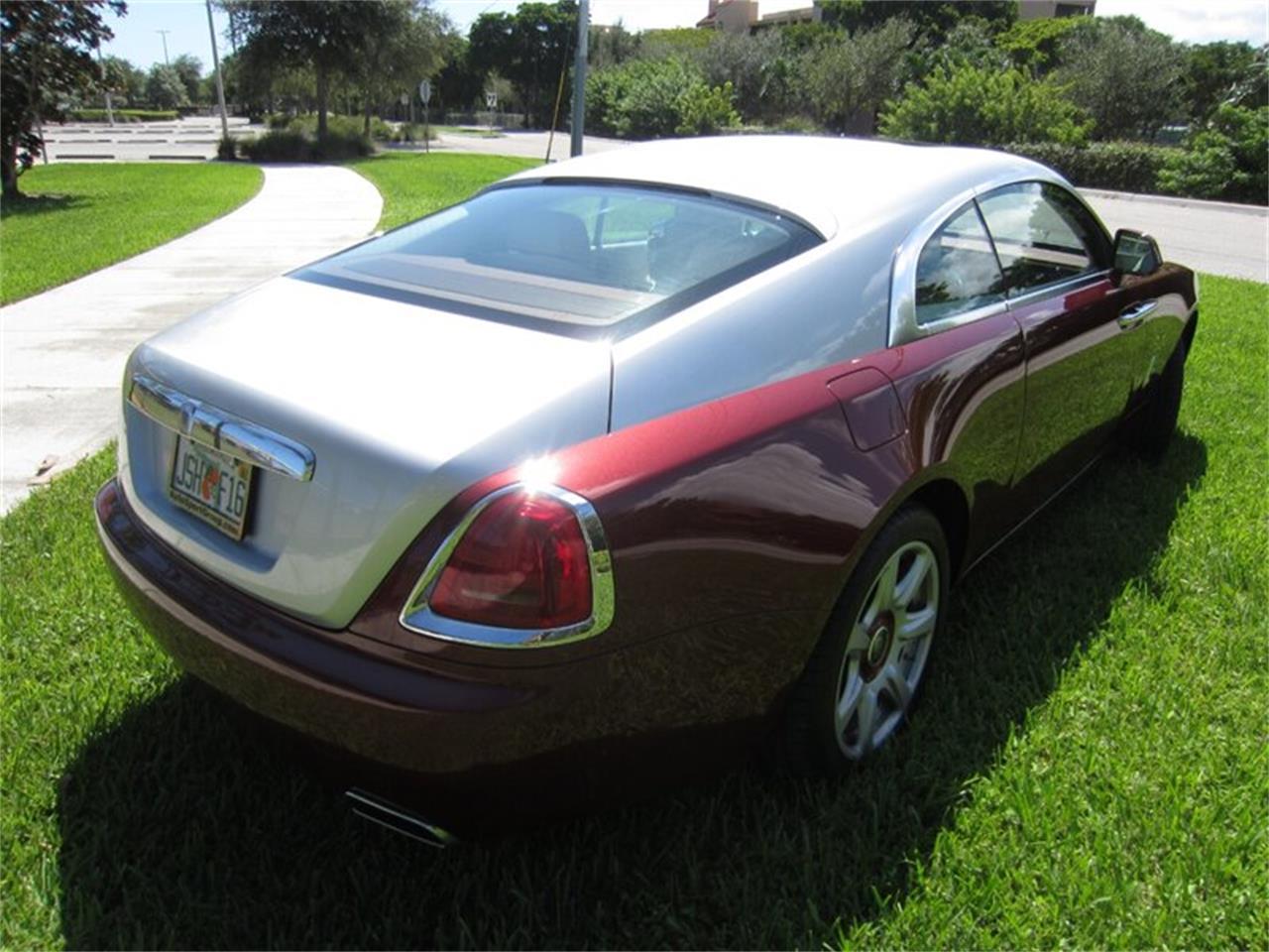 2015 Rolls-Royce Silver Wraith (CC-1410246) for sale in Delray Beach, Florida