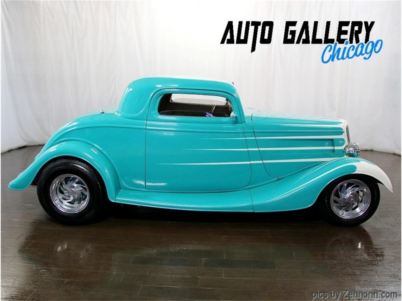 1934 Ford 3-Window Coupe (CC-1412527) for sale in Addison, Illinois