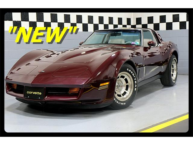 1982 Chevrolet Corvette (CC-1412678) for sale in Old Forge, Pennsylvania